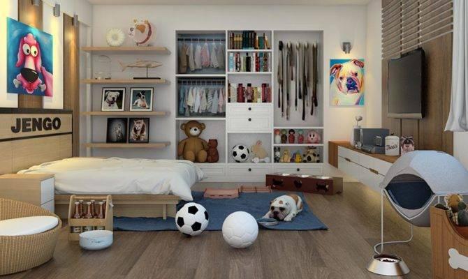 Artist Renderings Pet Friendly Rooms Bedroom Living