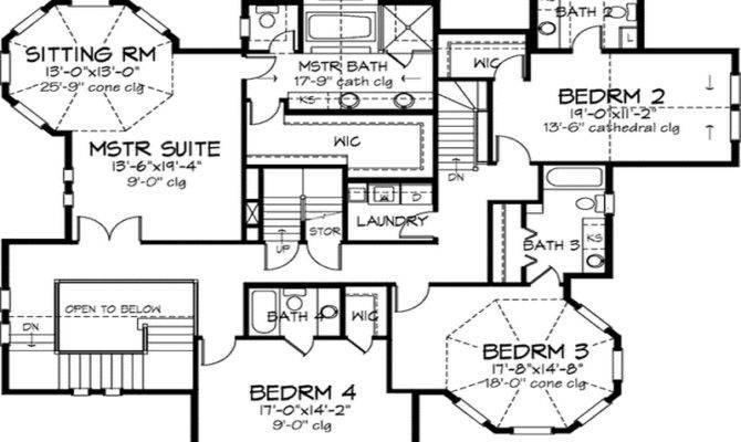 Artistic Edwardian Floor Plans Architecture