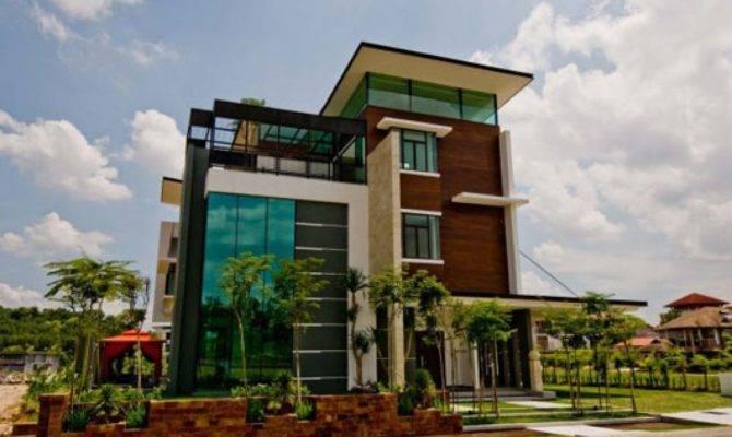 Artistic Tropical Home Design Kuala Lumpur Modern Homes