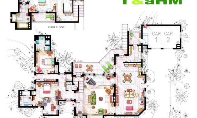 Artsy Architectural Apartment Floor Plans Shows