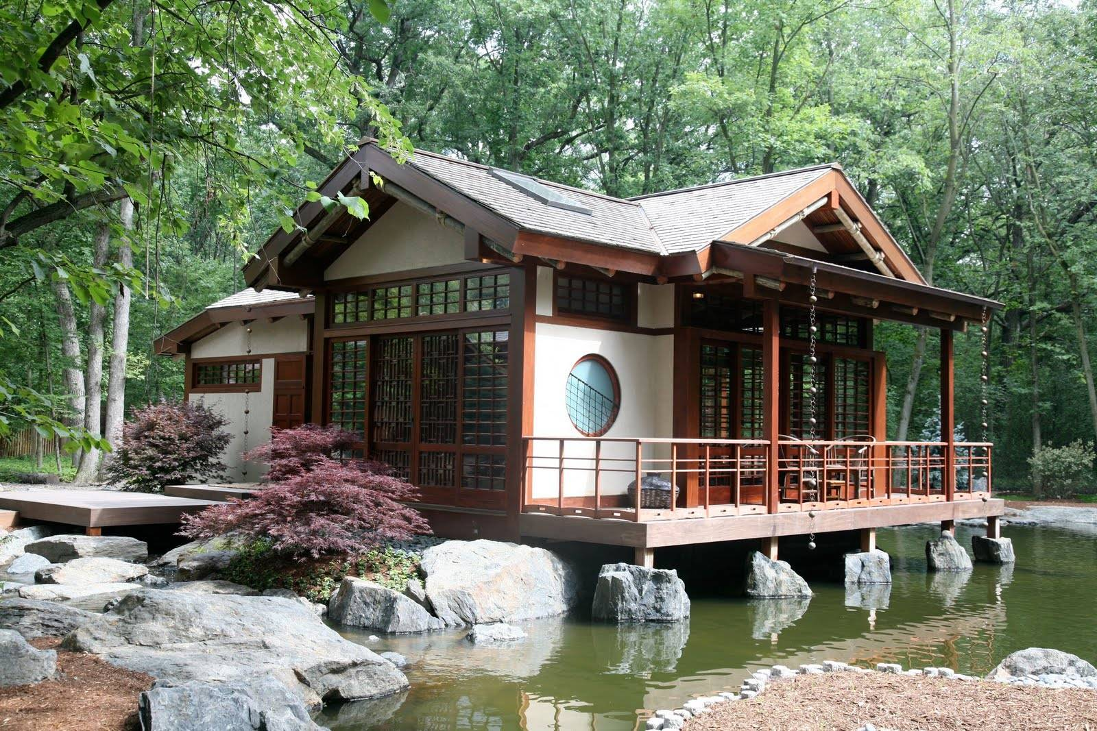 Asian Inspired Home Designs Android Iphone House Plans 4634