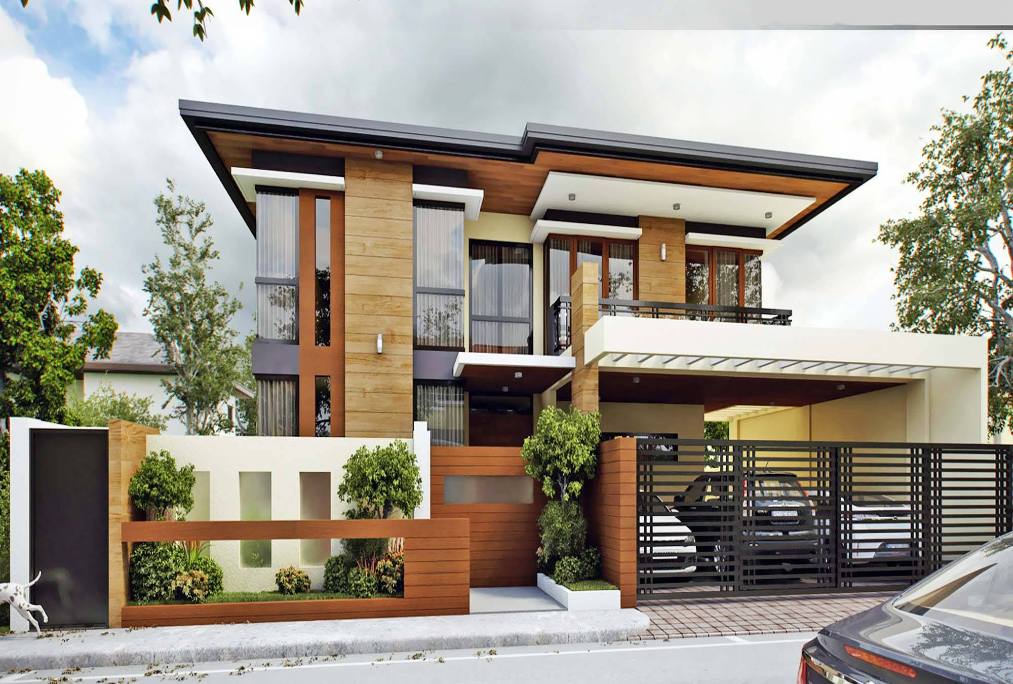 Asian Modern House Design Tazo Company House Plans 170675