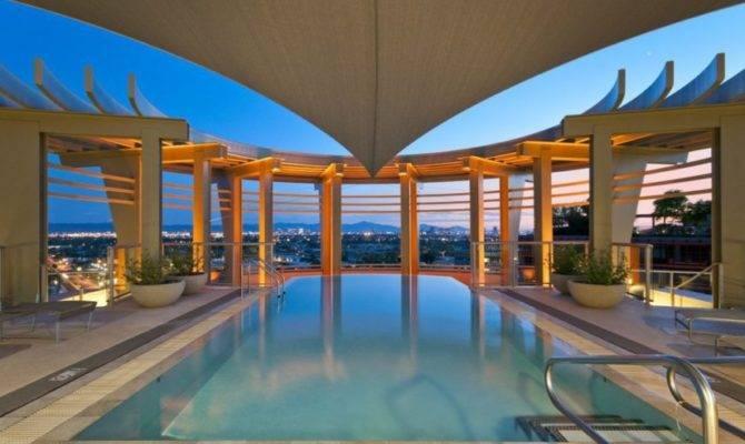 Astonishing Rooftop Swimming Pools Beautiful