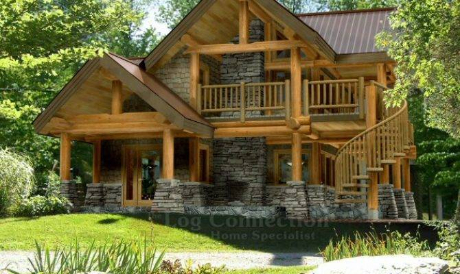 Astoria Log Home Design Connection