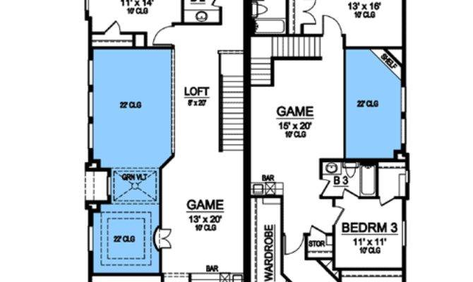 Asymmetrical Mediterranean Duplex Floor