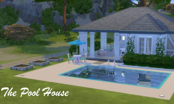 Athsndwords Sims Designs Pool House
