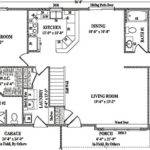 Atlanta Wardcraft Homes Ranch Floorplan