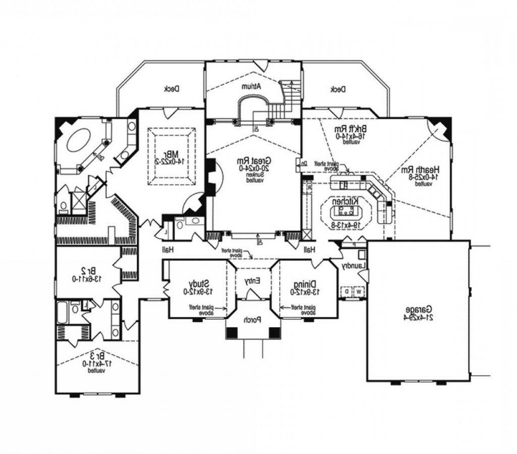 atrium ranch house plans cocodanang house plans 158399