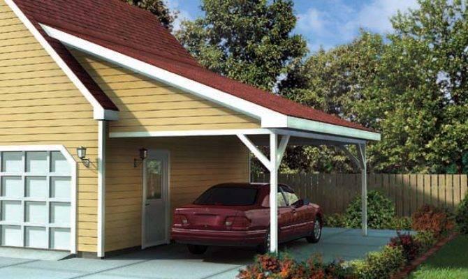 Attached Carport Designs Homedesignpictures