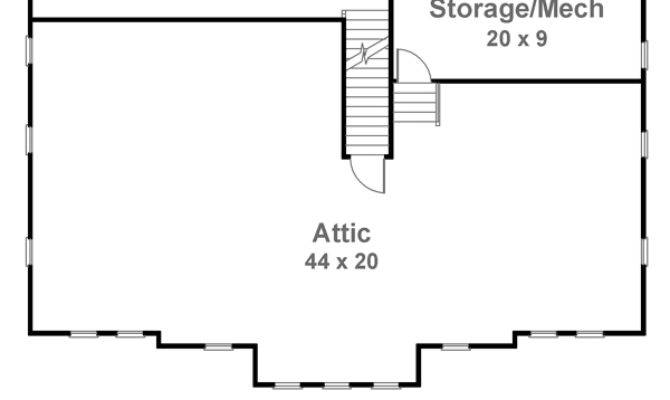Attic House Plans Find