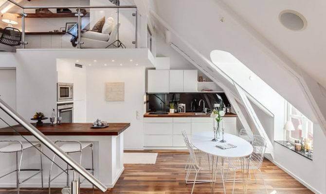 Attic Loft Stockholm Sweden Decoholic