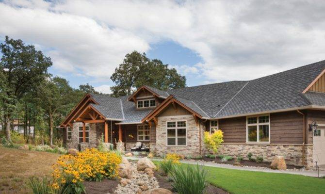 Attractive Craftsman Ranch Hwbdo Builderhouseplans
