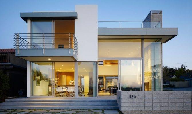 Attractive Design Small Modern House Designs Floor