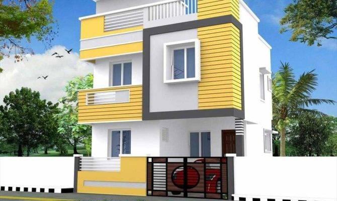 Attractive Duplex House Front Elevation Designs Trends