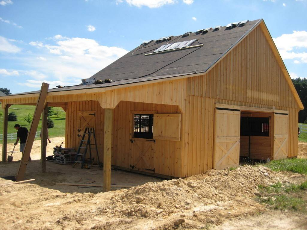 Attractive Small Horse Barn Plans Ideas Yustusa House Plans 137098