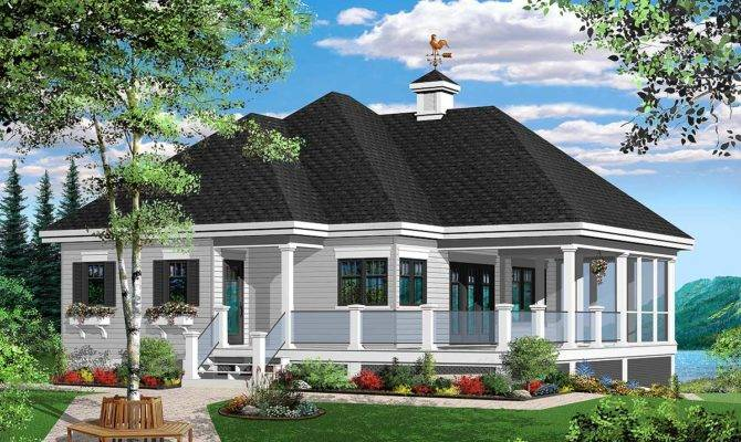 Attractive Vacation Cottage Architectural