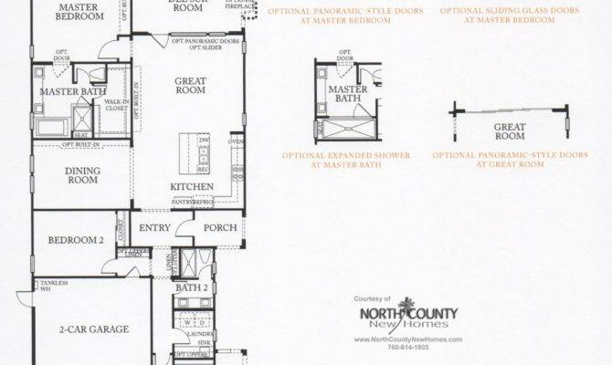 Auberge Del Sur Summer House Floor Plans North County