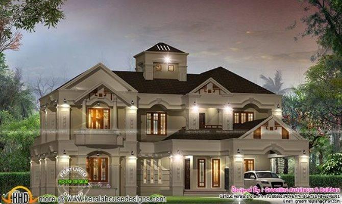 August Kerala Home Design Floor Plans