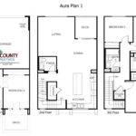Aura Floor Plans New Homes Mira Mesa North County