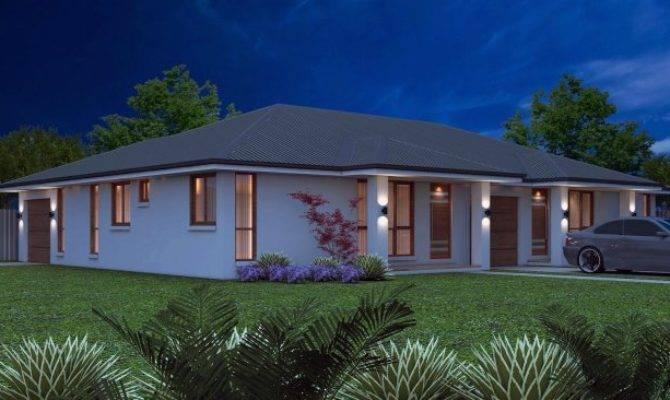 Australian Bedroom Duplex Kit Home Design