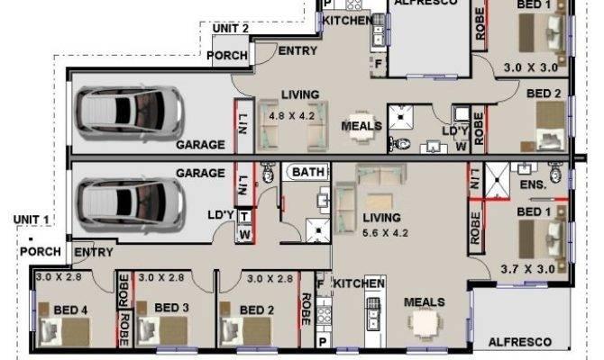 Australian Dual Key Floor Plans Home Design