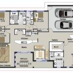 Australian Floor Plans Bedroom House Home Design