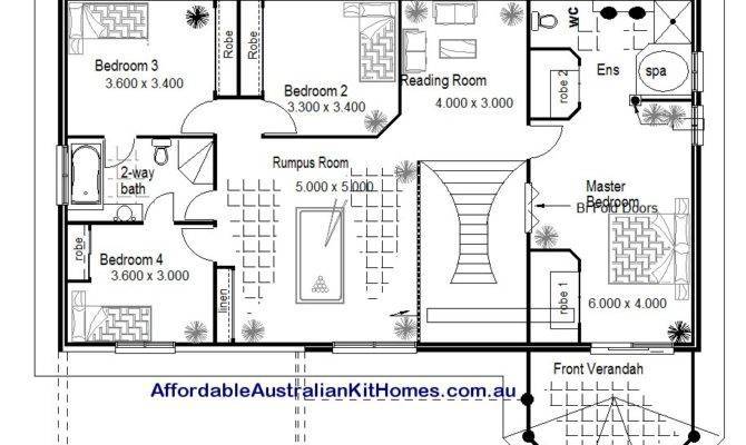Australian Kit Homes Bedroom Plus Study Storey