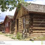 Authentic Log Homes Timber Buildings Old Fashioned Wild West