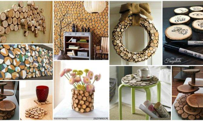 Authentic Wood Slices Decor Ideas Your Home