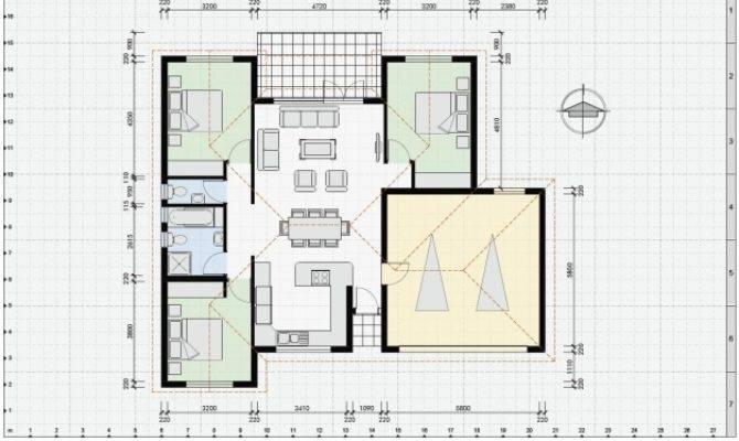 Auto Cad House Plans Floor