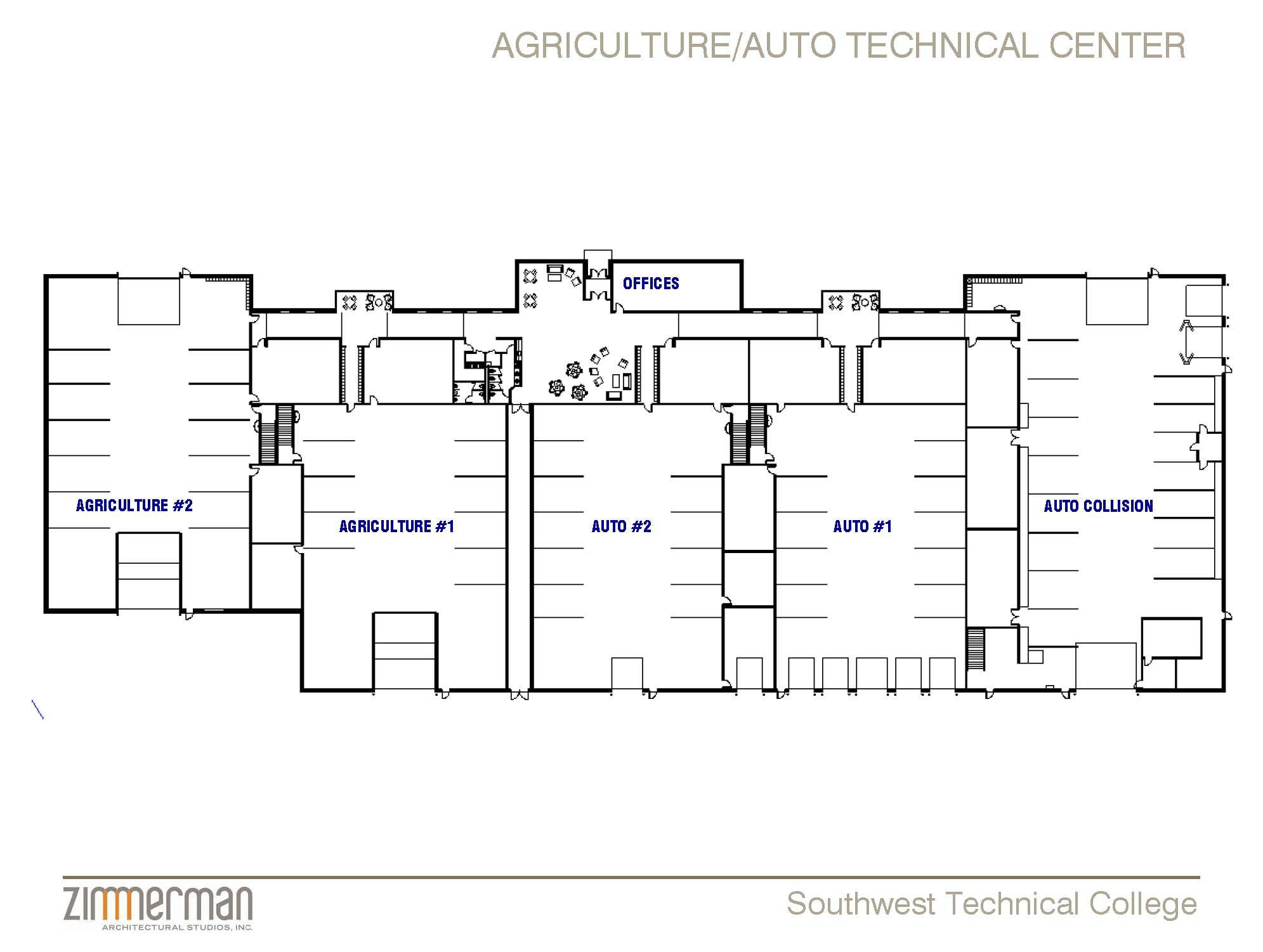 Auto Shop Floor Plans House Plans 70398
