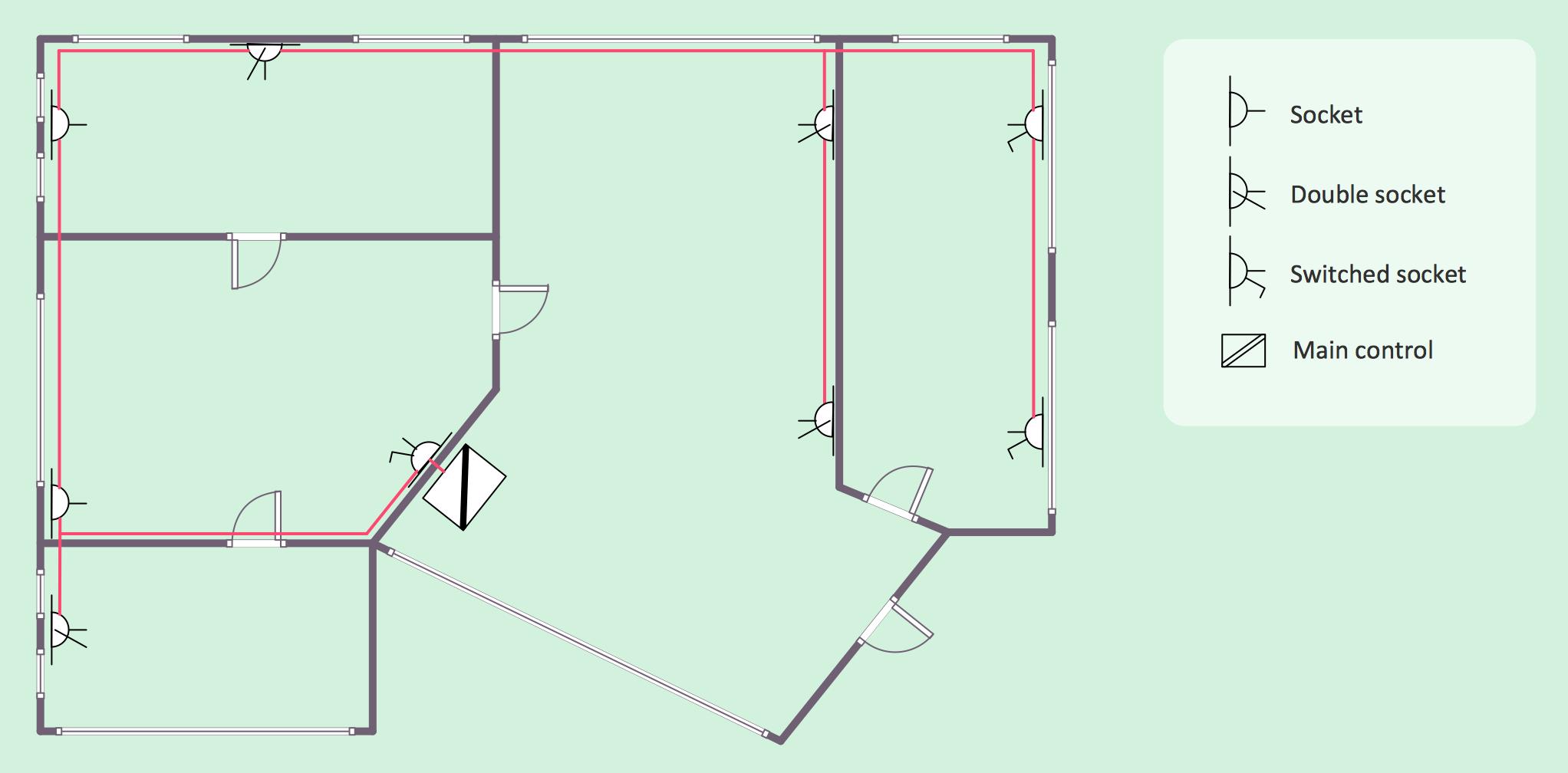 Autocad Electrical Symbols Floor Plans