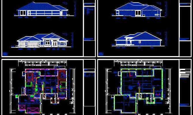 Autocad Floor Plans Dwg