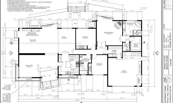 Autocad House Plans Dwg Unique Kitchen Plan Cad