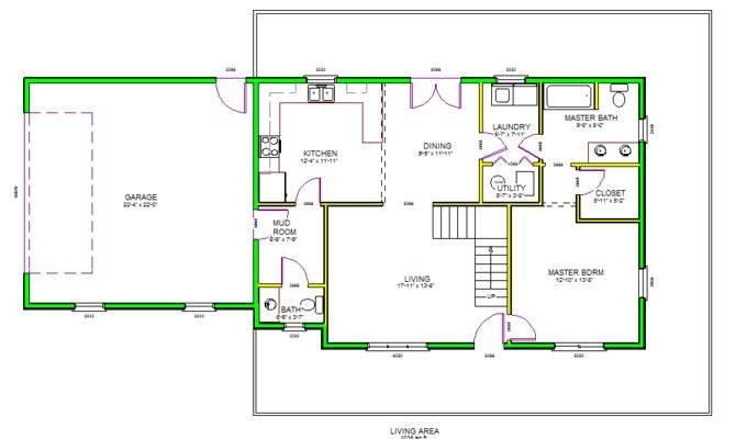 Autocad House Plans Floor