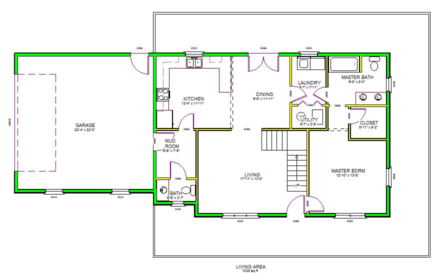 Autocad House Plans Floor House Plans 32591