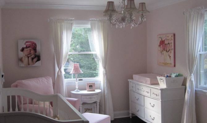 Ava Pink White Shabby Chic Nursery Project