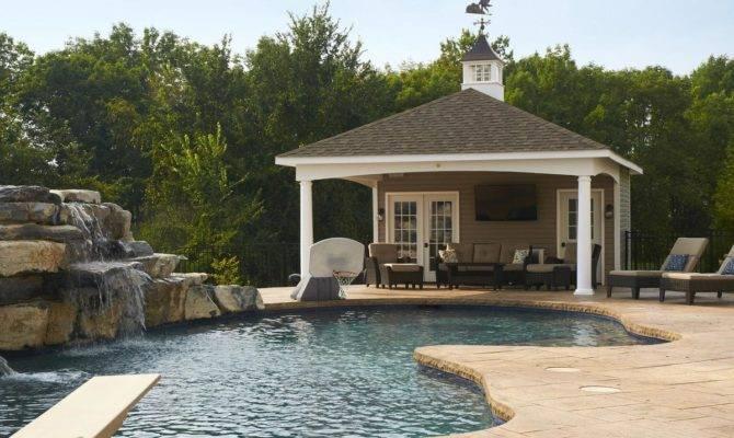 Avalon Pool House Pleasant Run Structures