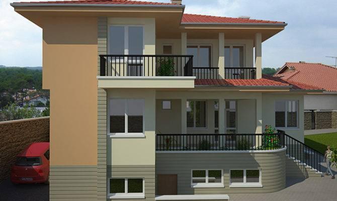 Avangard Two Storey Residential Building Kolena