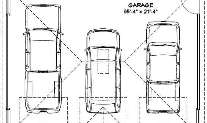 Average Detached Car Garage Square Feet