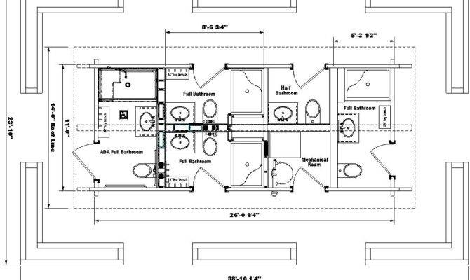 Awesome Ada Compliant House Plans Architecture