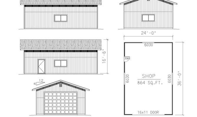 Awesome Building Plans Garage Shop
