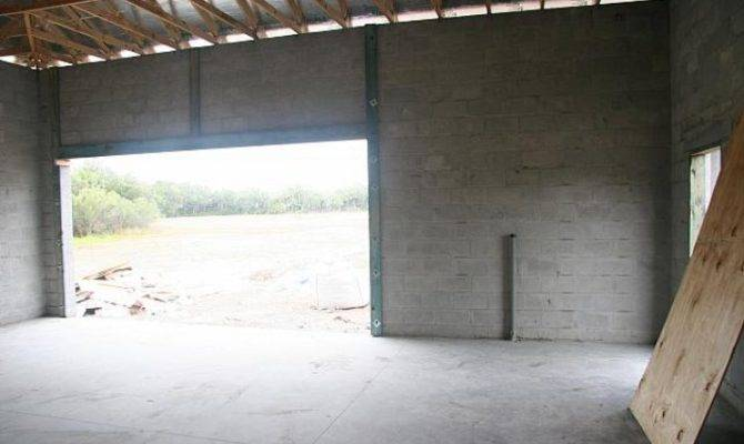 Awesome Concrete Block Garage Plans Home