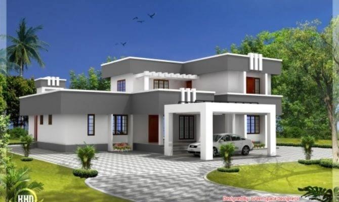 Awesome Contemporary Duplex Home Designs House Plans