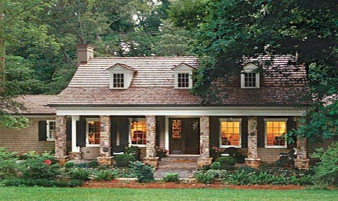 Awesome Cottage Style Houses Lake House Floor Plans Country