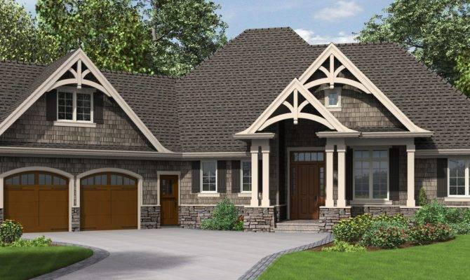 Awesome Craftsman House Plans One Story