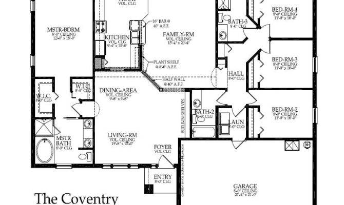 Awesome Custom Built Home Plans Floor