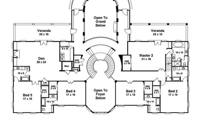 Awesome French House Plans Story Bedroom