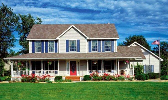 Awesome Home Design Plans New American Country House