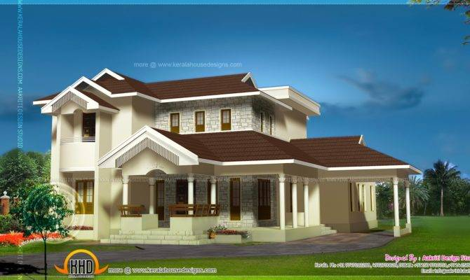 Awesome Home Plan Kerala Design Floor Plans